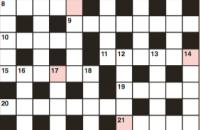 Quick crossword October 2018