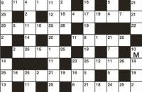 Codeword Puzzle November 2018