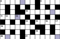 Cryptic crossword January 2019