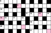 Quick crossword February 2019