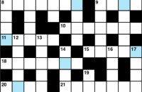Cryptic crossword March 2019
