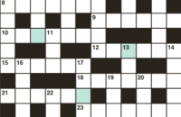 Cryptic crossword April 2019