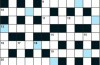 Cryptic crossword June 2019