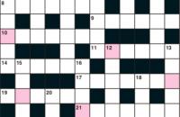 Quick crossword June 2019