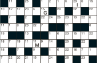 Codeword Puzzle September 2019