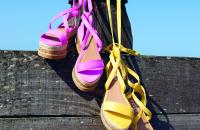 Win! Flatform sandals from Luxe to Kill