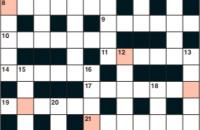 Quick crossword September 2019
