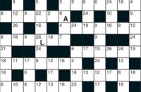 Codeword Puzzle October 2019