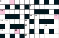 Quick crossword October 2019