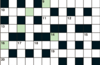 Cryptic crossword November 2019