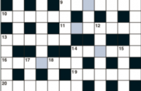 Cryptic crossword December 2019