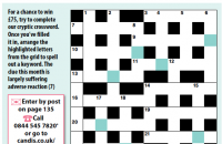Cryptic crossword February 2020