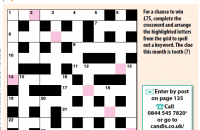 Quick crossword February 2020