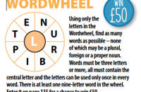 Wordwheel March 2020