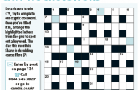 Cryptic Crossword April 2020