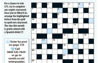 Cryptic Crossword June 2020