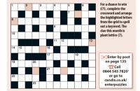 Quick crossword August 2020