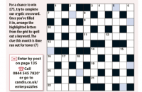 Cryptic Crossword September 2020