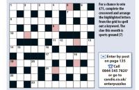 Quick crossword September 2020