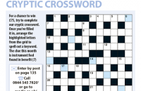Cryptic Crossword October 2020