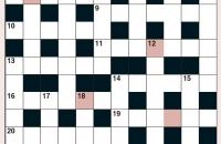 Cryptic Crossword December 2020