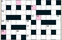 Quick Crossword December 2020