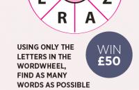 Wordwheel April 2021