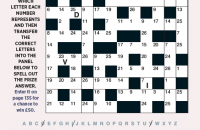 Codeword Puzzle July 2021