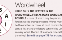 Wordwheel August 2021
