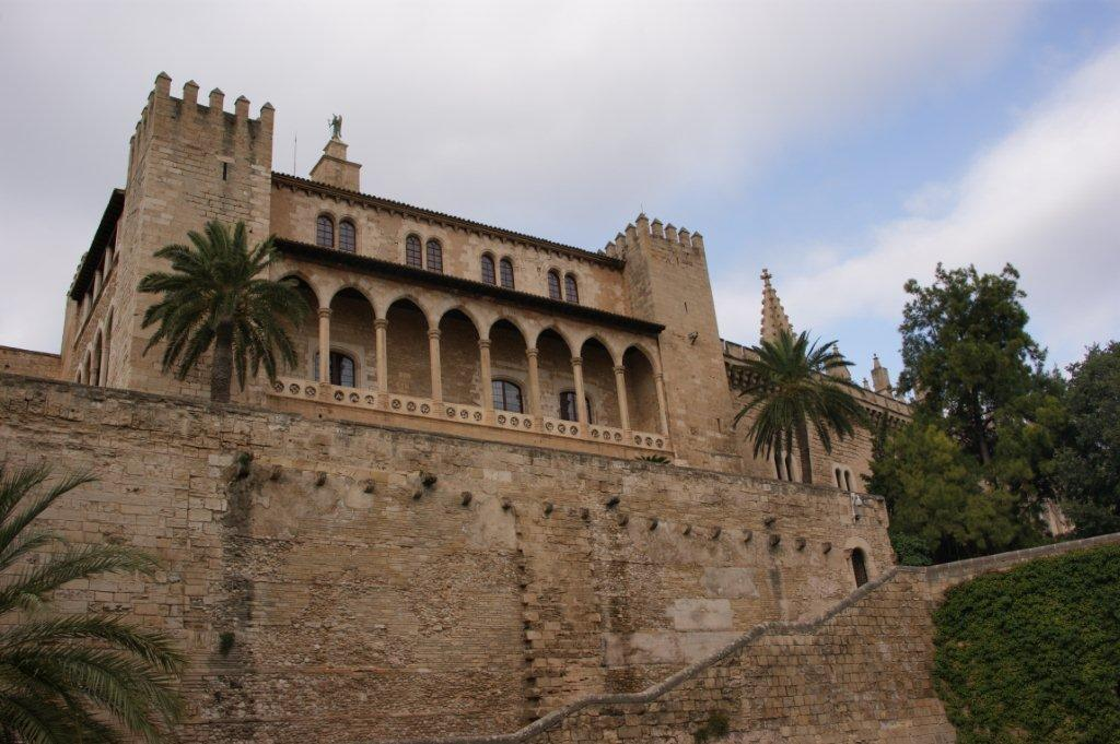 The Almudaina Palace in Palma, Mallorca