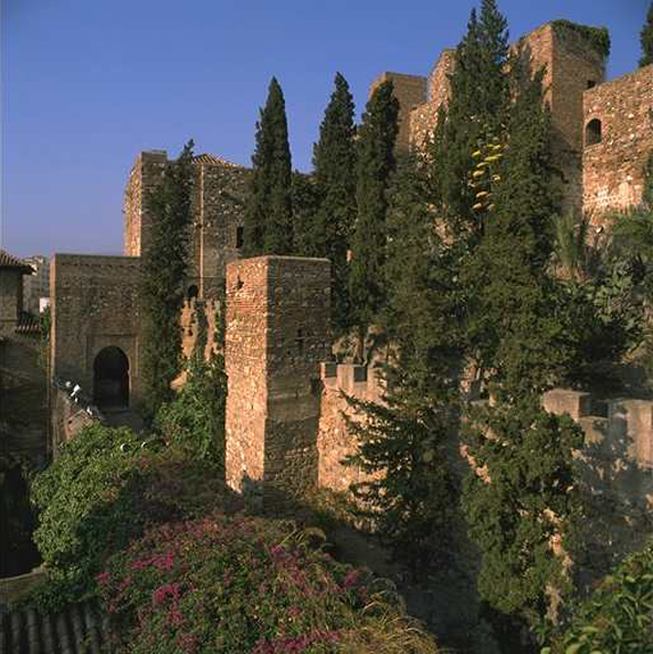 Alcazaba fort in Malaga