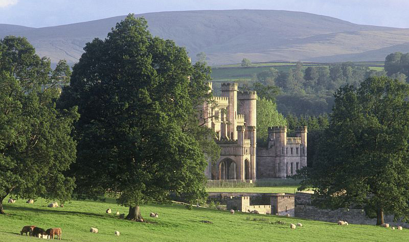 Lowther Castle and Gardens in Cumbria