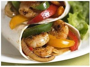 All in One Prawn Fajitas