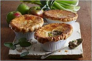 Pork, Cider, Sage and Apple Pies